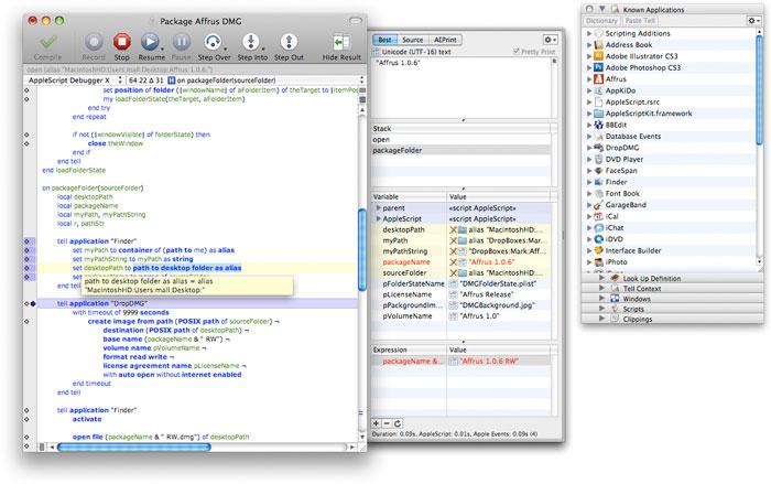 Script Debugger 4.5