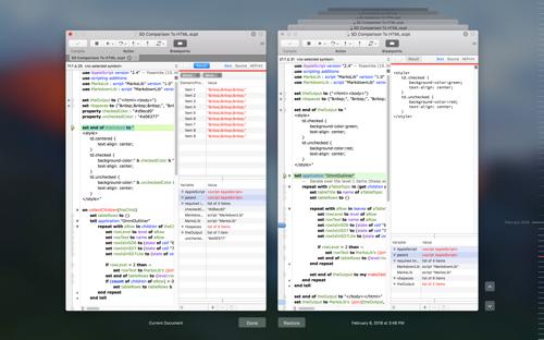 Debugging background scripts